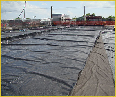 secondary containment berms for frac tanks